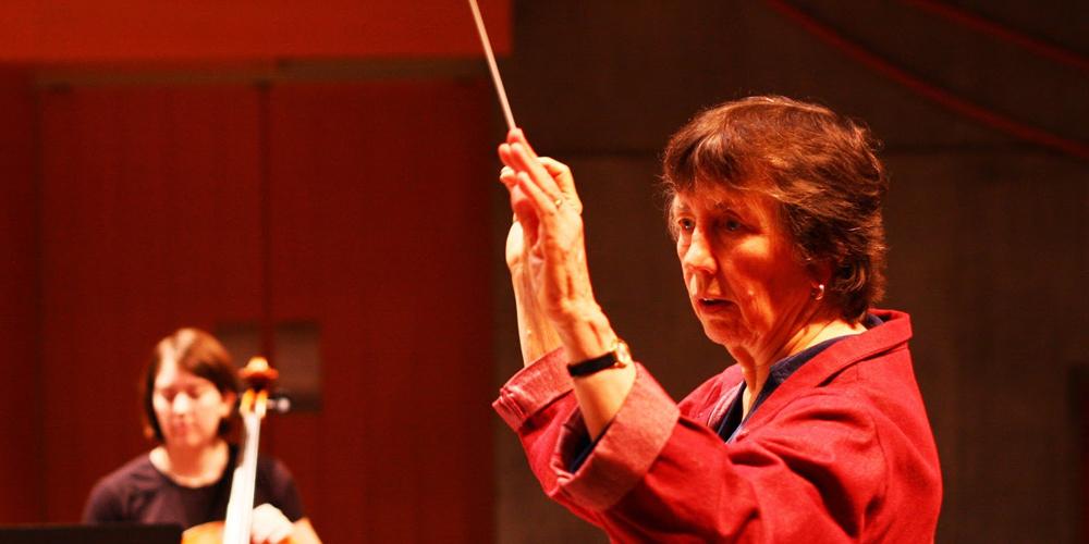 Joan Tower Conducting